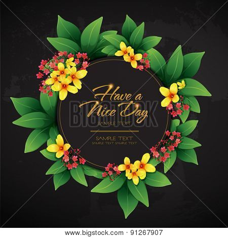 blossom tropical flower background 15