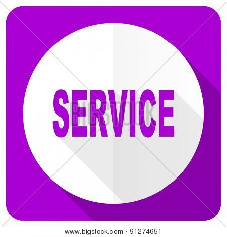 service pink flat icon