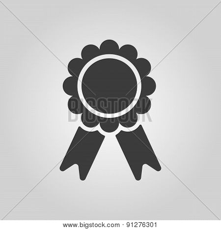 The Award Icon. Achievement Symbol. Flat