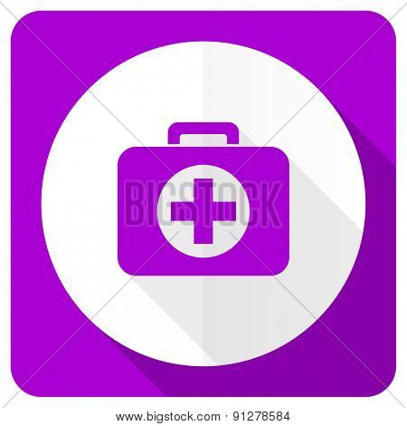 first aid pink flat icon hospital pink flat icon