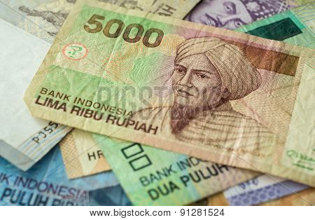 Background From Indonesian Rupiah