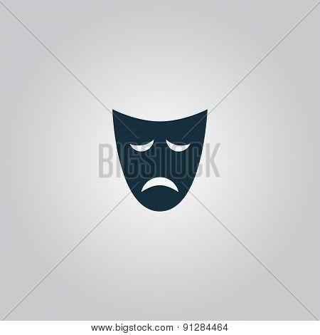 Sadness mask