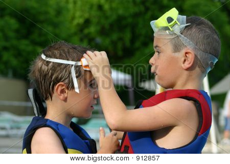 Broer helpen