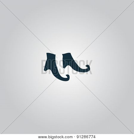 Witch boots icon