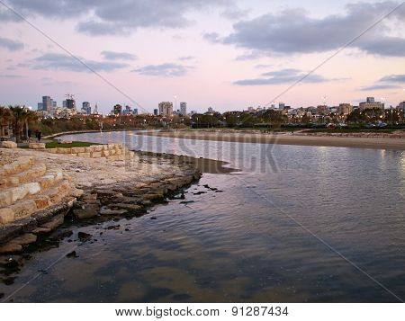The Yarkon River Tel Aviv Israel