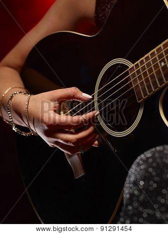 Guitarist Woman