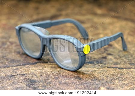 Pair Of Protective Eyeglasses