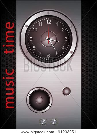 Music Time Clock