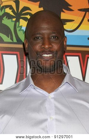 LOS ANGELES - MAY 20:  Will Sims II at the Survivor Season 30 Finale at the CBS Radford on May 20, 2015 in Studio City, CA