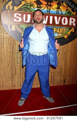 LOS ANGELES - MAY 20:  Rodney Lavoie Jr. at the Survivor Season 30 Finale at the CBS Radford on May 20, 2015 in Studio City, CA