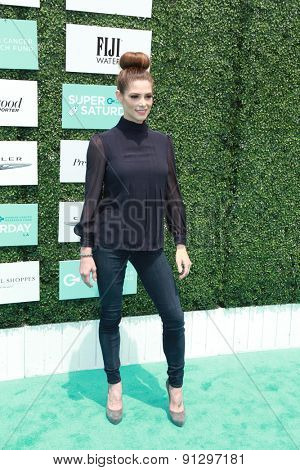 0LOS ANGELES - MAY 16:  Ashley Greene at the Super Saturday LA at the Barker Hanger on May 16, 2015 in Santa Monica, CA