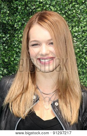 0LOS ANGELES - MAY 16:  Sadie Calvano at the Super Saturday LA at the Barker Hanger on May 16, 2015 in Santa Monica, CA