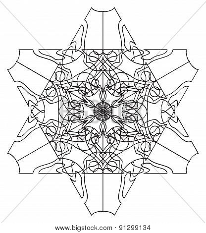 Tracery Pattern - Six-sided Tracery Pattern