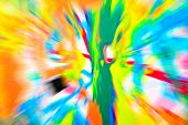 pic of starburst  - Abstract multicolored background - JPG