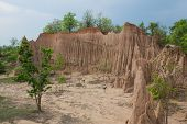 pic of na  - Soil textures of Sao Din Na Noi in Sri Nan national park - JPG