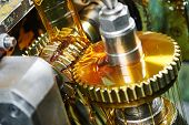 picture of lubricant  - metalworking industry - JPG