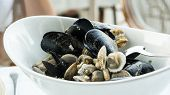 Постер, плакат: Mixed Mussels
