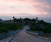 pic of old bridge  - Ukraine Kamenets - JPG