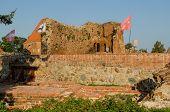 picture of castle  - Teutonic Castle in Torun - JPG