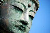 foto of buddha  - Iconic giant Buddha statue in Kamakura - JPG