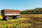 pic of wagon  - Agriculture - JPG
