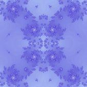 foto of plasmatic  - Seamless fractal pattern in blue colored spectrum - JPG