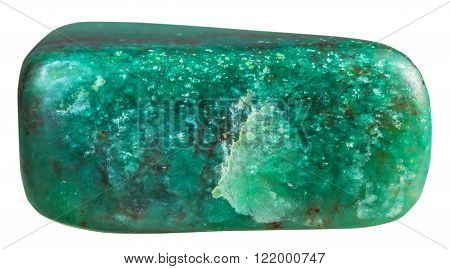 Tumbled Fuchsite In Green Quartzite Gem Stone