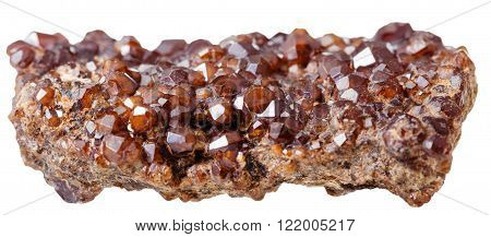 Piece With Andradite (garnet) Mineral Crystals