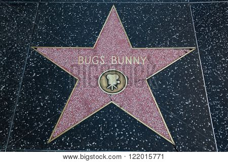 Bugs Bunny Hollywood Star
