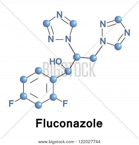 Fluconazole antifungal medication