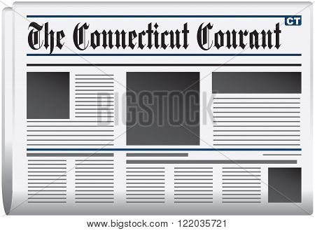 State of Connecticut Newspaper - The Connecticut Courant.
