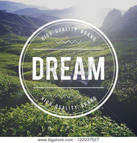Dream Dreamer Dreaming Goal Hopeful Target Concept