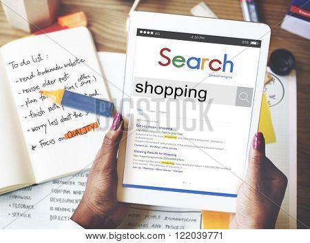 Shopping Purchase Shopaholic Buying Spending Concept