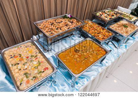 Chinese And Malay Buffet