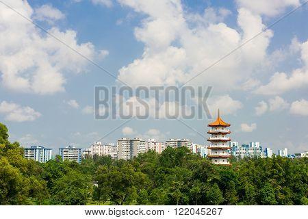 Chinese Pagoda Tower