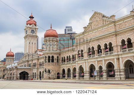 Sultan Abdul Samad Building At Merdeka Square