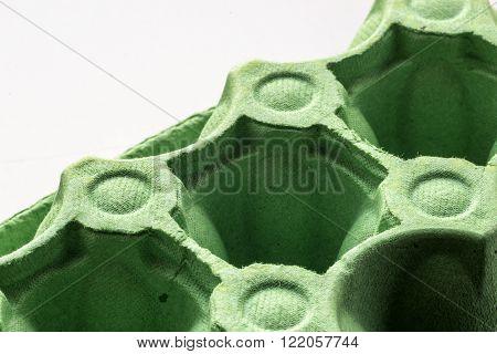 Green Egg Carton Box