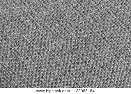 Gray fabric cloth texture. Element of design.