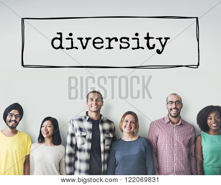 Diversity Ethnicity Diverse Different Multiethnic Concept