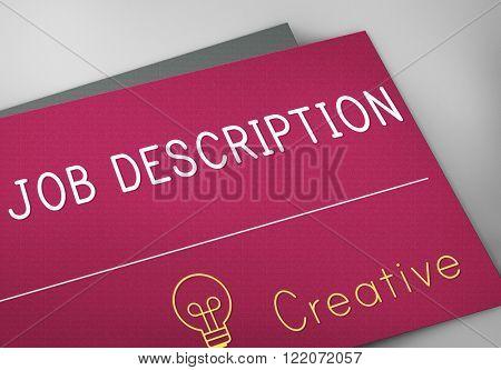 Job Description Task Duty Role Occupation Concept