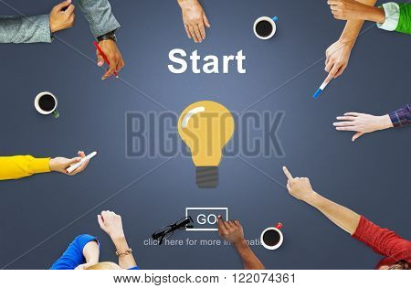 Start Begin Activation Begin First Build Forward Concept