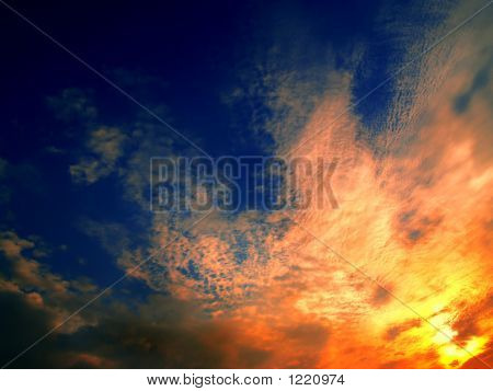 Eruption Of Sun