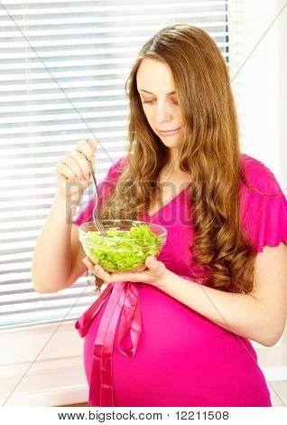 Schwangere Mädchen