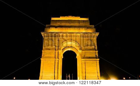 Gateway of India on Raj Ghat at Delhi ** Note: Soft Focus at 100%, best at smaller sizes