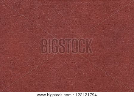 Artificial Brown Leather Surface.