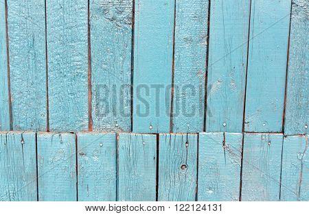 Navy Blue Wooden Hangar Texture.