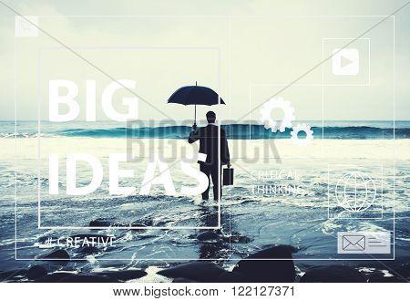 Big Ideas Creativity Design Thought Vision Concept