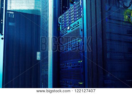 light in the modern mainframe storage in the data center