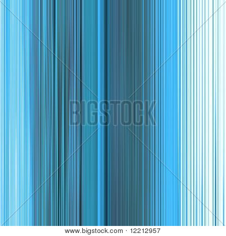 Abstract of vertical lines in shades of blue and cyan