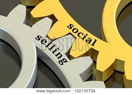 social media concept  isolated on black background